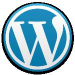 アイキャッチ画像 WordPress ブルー