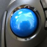 トラックボール ELECOM M-DT1DRBKのボールを換装する