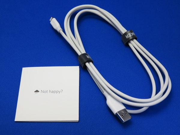 Anker PowerLine ライトニングUSBケーブル 1.8m ホワイト