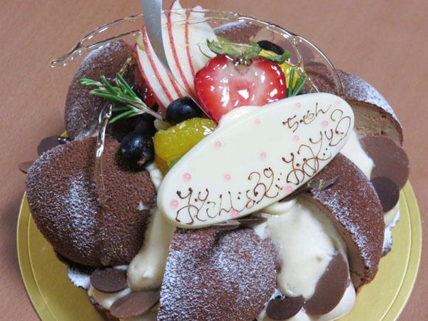 メゾン ラブレ バースデーケーキ