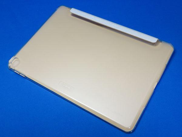 Amazonセール品 ESR iPad Air2 ケース クリア PUレザー ゴールド