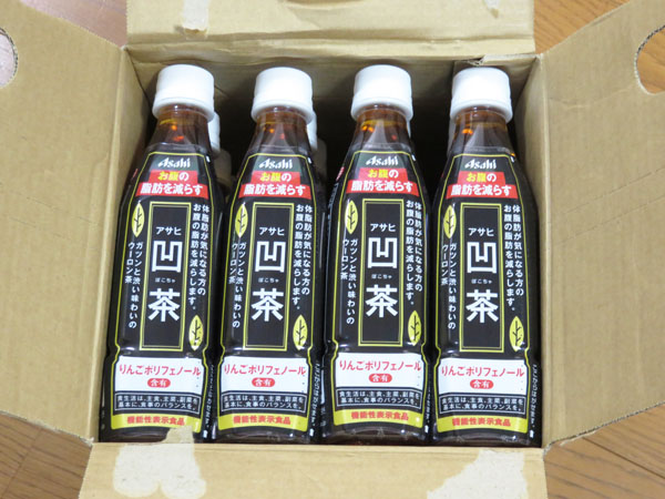 アサヒ 凹茶(ぼこちゃ) 機能性表示食品 3ケース