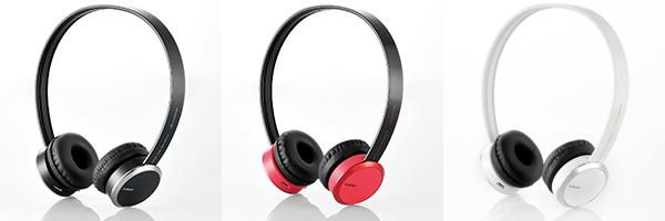 ELECOM Bluetooth ワイヤレスヘッドホン LBT-OH04