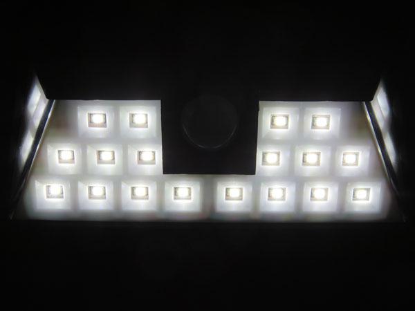 Patech 24 LED ソーラーライト 通常点灯ライトモード