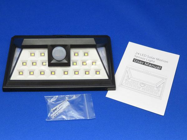 Patech 24 LED ソーラーライト