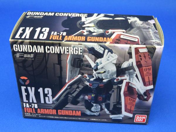 GUNDAM CONVERGE EX13 フルアーマーガンダム