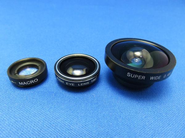 Qtop カメラレンズキット 3点セット