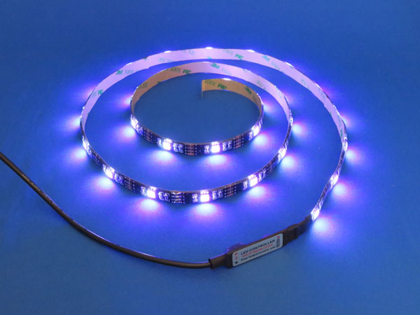 【レビュー記事】Qtop LEDテープベルト リモコン付き