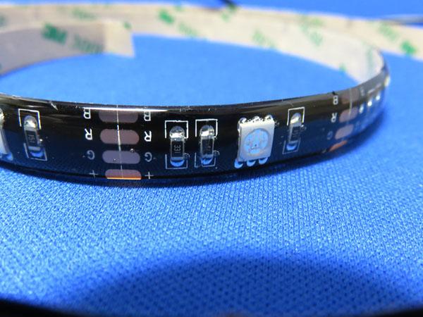 Qtop LEDテープベルト リモコン付き
