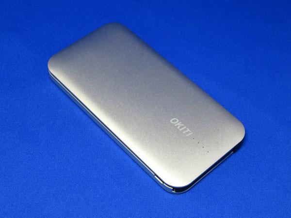 【レビュー記事】Okiti モバイルバッテリー10000mAh