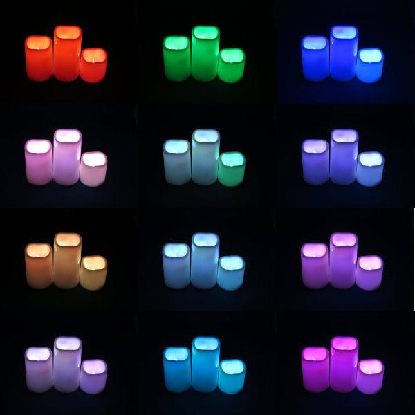 Qtop LEDキャンドル 3個入り