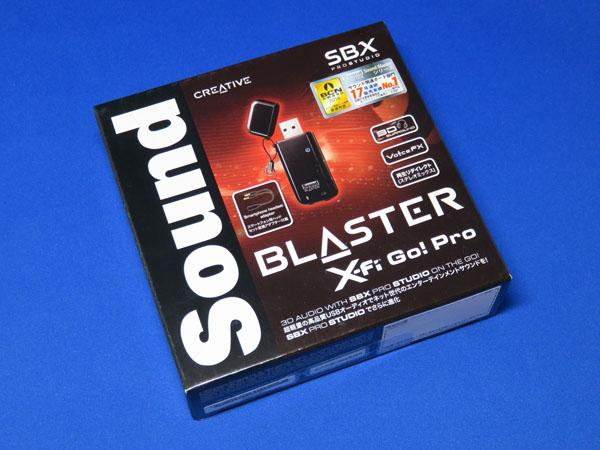 Creative Sound Blaster X-Fi Go! Pro r2を購入する!