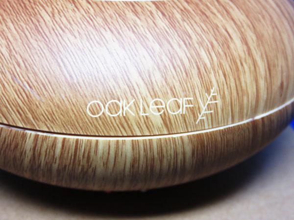 Oak Leaf アロマディフューザー 木目調 140ml