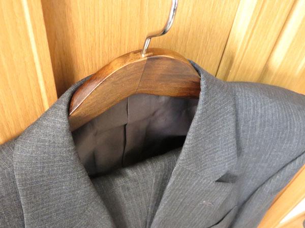 J.S. Hanger 木製ハンガー 胡桃色 5本組