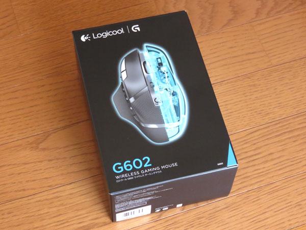 ロジクール ワイヤレスゲーミングマウスG602の保証交換対応!