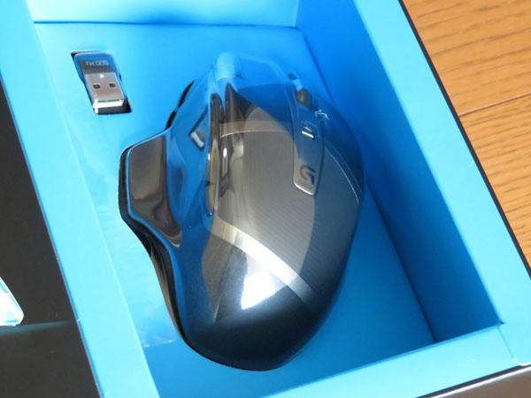 ロジクール ワイヤレスゲーミングマウスG602