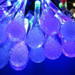 レビュー記事 Qtop LEDイルミネーション 水滴 50球