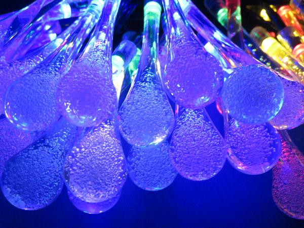 【レビュー記事】Qtop LEDイルミネーション 水滴 50球