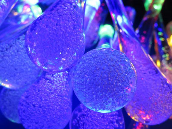 Qtop LEDイルミネーション 水滴 50球