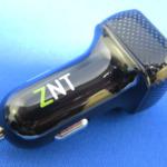 レビュー記事 ZNT カーチャージャー 2ポート 2.4A急速充電