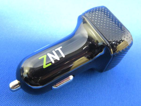 【レビュー記事】ZNT カーチャージャー 2ポート 2.4A急速充電