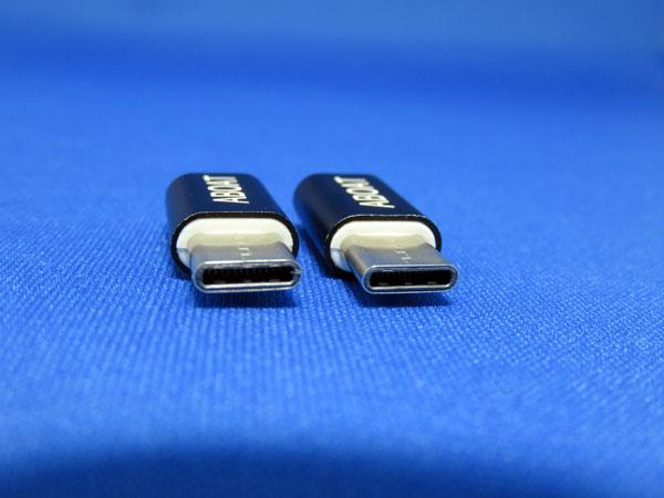 ABOAT USB Type-C変換アダプタ Micro USBケーブル2本セット付き