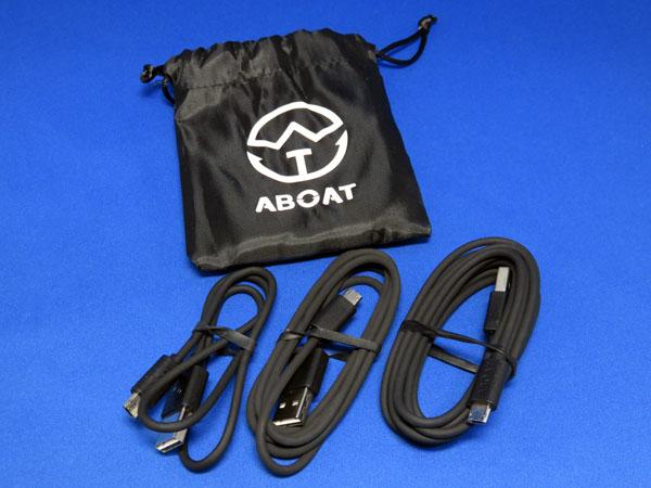 【レビュー記事】ABOAT microUSBケーブル 3本セット