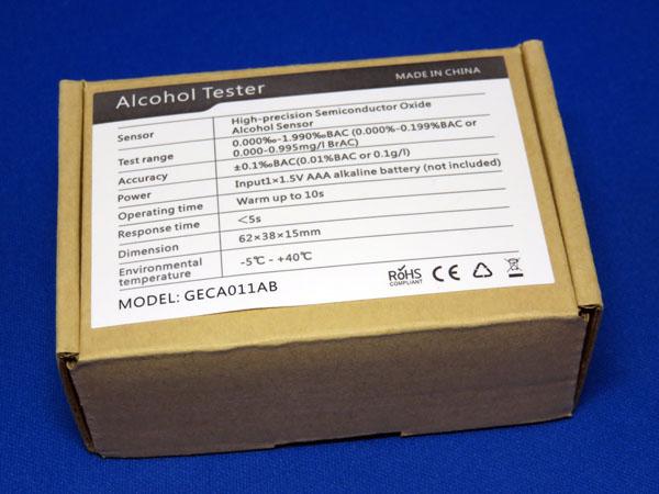 PrimAcc アルコールチェッカー