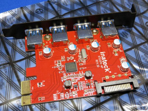 セカンドPC用にUSB3.0増設ボードを購入する!