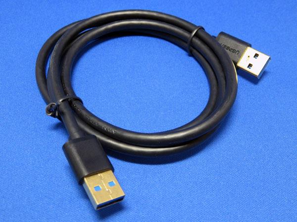 Ugreen USB 3.0 ケーブル(タイプAオス-タイプAオフ)