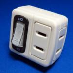 ヨドバシ.comでスイッチ付き2個口タップを購入する!