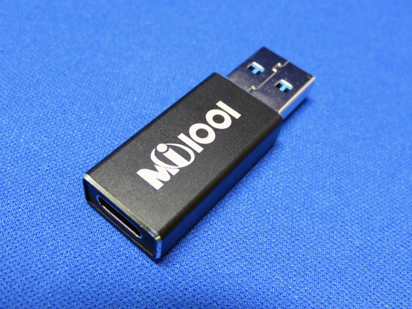 USB Type-C → USB Type-A 変換アダプター