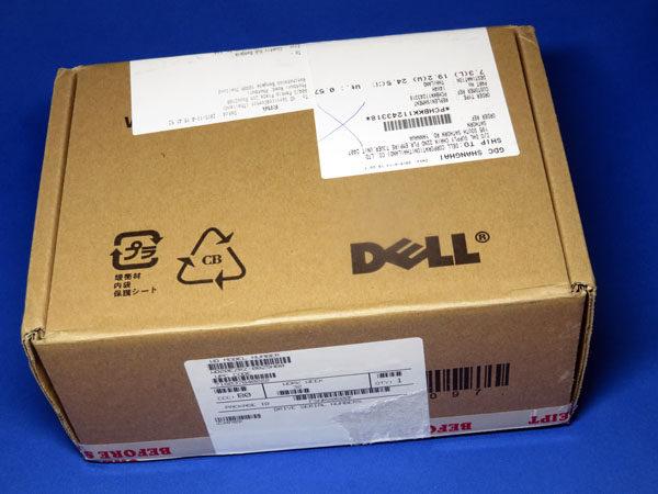 良品交換されたWDハードディスクが戻ってきた!