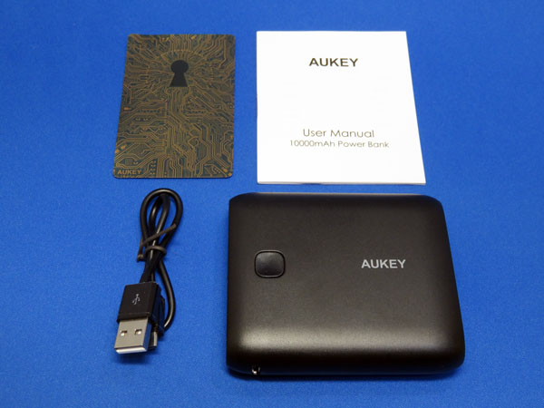 AUKEY モバイルバッテリー 10000mAh PB-N42