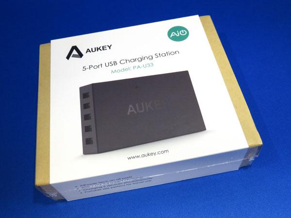 AUKEY USB充電器 5ポート AIPower機能搭載