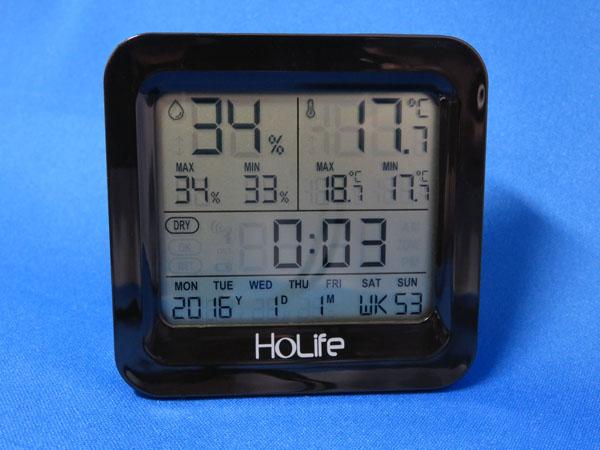 【レビュー記事】Holife デジタル温湿度計