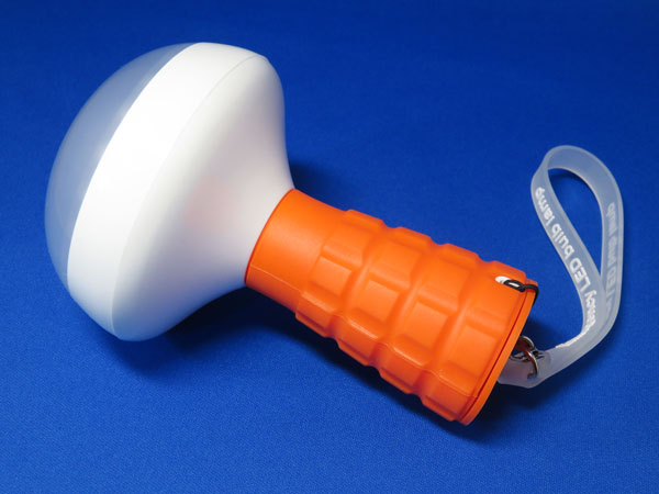 【レビュー記事】LED懐中電灯 マグネット付き USB充電 オレンジ