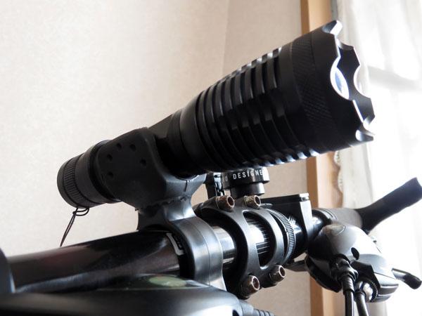 Qtuo 自転車用ヘッドライト&テールライトキット