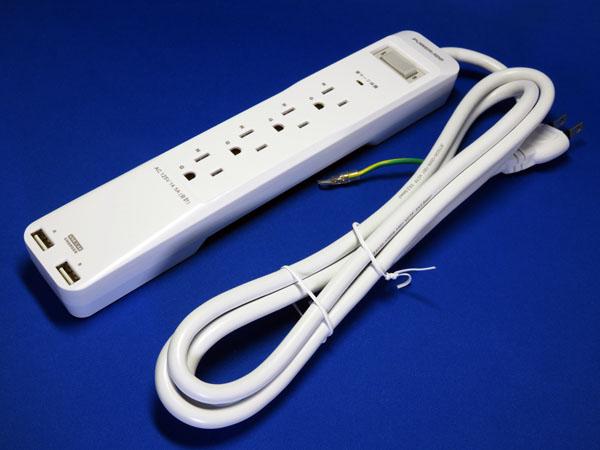 【レビュー記事】Poweradd 電源タップ USB充電ポート付(AC4個口 USB2個口)