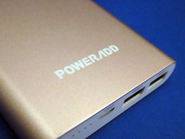 【レビュー記事】Poweradd Lightning モバイルバッテリー Pilot 4GS 12000mAh