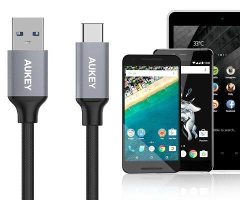 AUKEY USB Type-C ケーブル 5本セット CB-CMD2 購入キャンペーン!