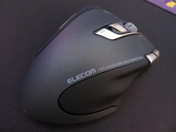 ロジクールマウスの調子が悪いのでエレコムマウスに切り換える!