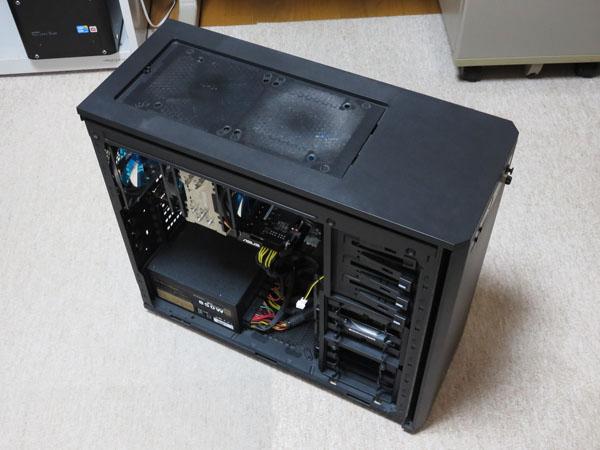 メインPCのマザーボードのボタン電池交換と清掃を実施!