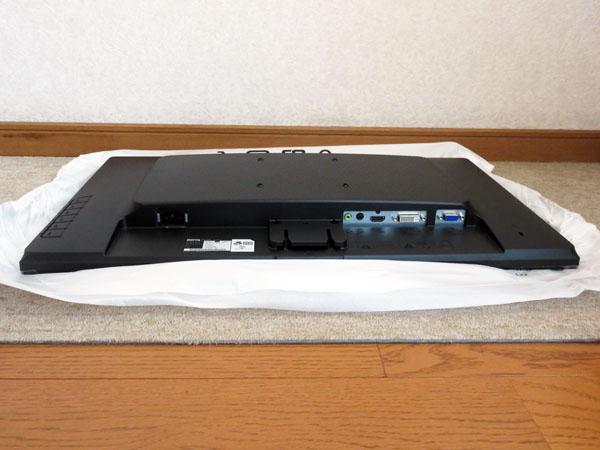 BenQ 24インチモニター GL2460HMをようやく設置する!