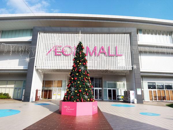 イオンモール広島祇園のクリスマスイルミネーション!(2)