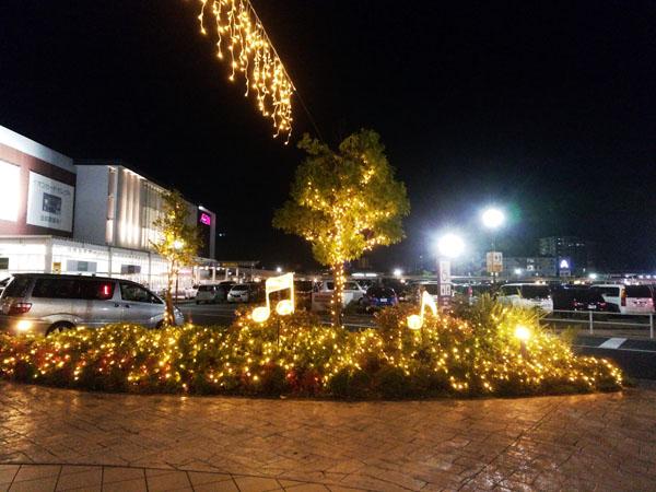 イオンモール広島祇園のクリスマスイルミネーション!