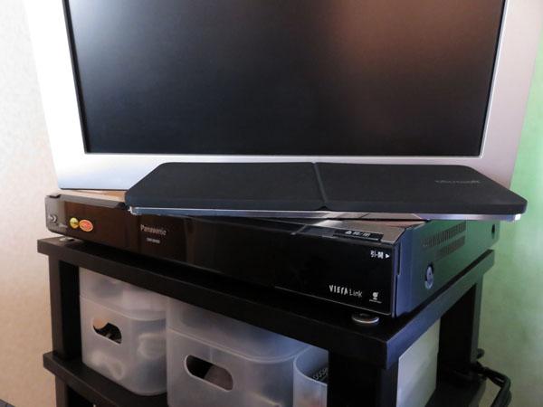 Panasonic DIGAで録画した番組をiPadで観る!