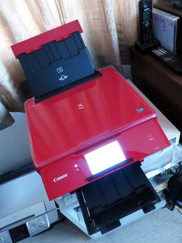 Canon インクジェットプリンター複合機 TS8030開封する!