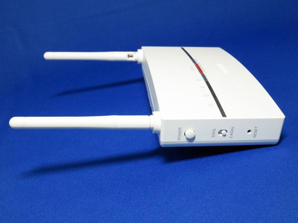 無線LAN中継器 BUFFALO エアステーションハイパワー WEX-1166DHPを設置する!