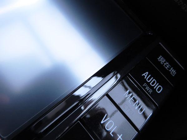 愛車トヨタノア80系のカーナビに液晶保護フィルムを貼る!